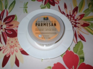 Whole Foods Market's 365 Shredded Parmesan