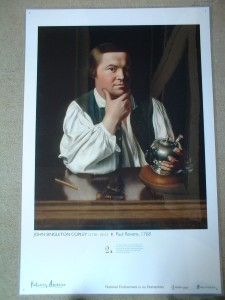 "John Singleton Copley's ""Paul Revere"""