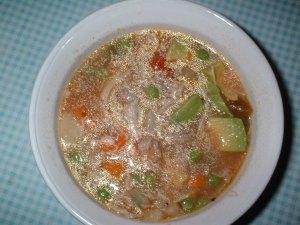 Aguado de Gallina, or Chicken and Rice Soup