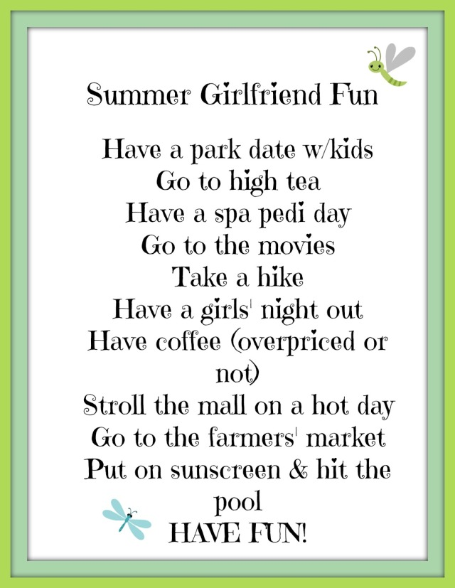 Summer Girlfriend Fun